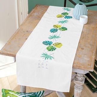 Tischläufer - Grüne Blätter