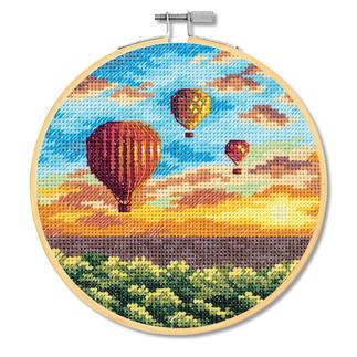 Stickbild - Heißluftballons