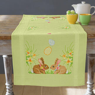 Tischläufer - Osterhasen