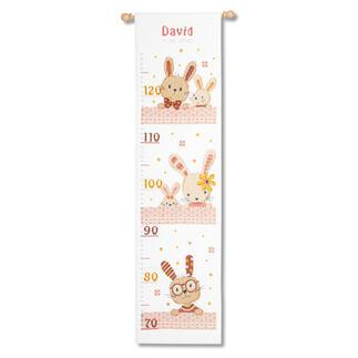 Messlatte - Süße Kaninchen