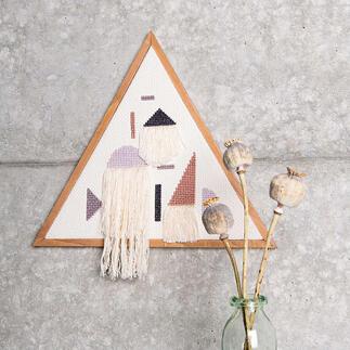 Kreuzstichbild - Dreieck