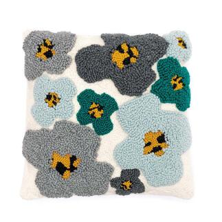 Punch Needle Set - Kissen Blumen