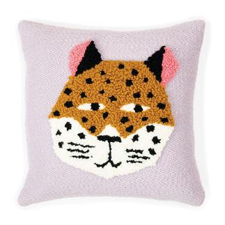 Punch Needle Set - Kissen Leopard