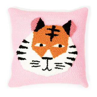 Punch Needle Set - Kissen Tiger