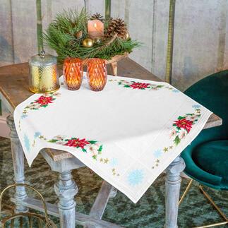 Tischdecke - Weihnachtsstern