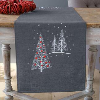 Tischläufer - Weihnachtsbäume