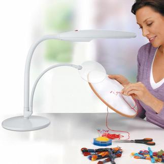 Tischleuchte mit Lupe Daylight - Der Spezialist für Tageslicht-Lampen.