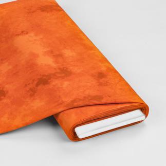 Meterware - Shadow, Orange Indian Summer – die Farben des Spätsommers