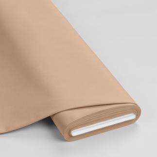 Meterware - Basic-Stoffe, Hellbraun Basic-Stoffe aus Baumwolle