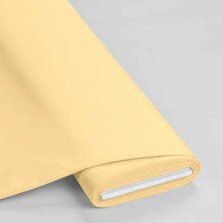 Meterware - Basic-Stoffe, Pastellgelb Basic-Stoffe aus Baumwolle