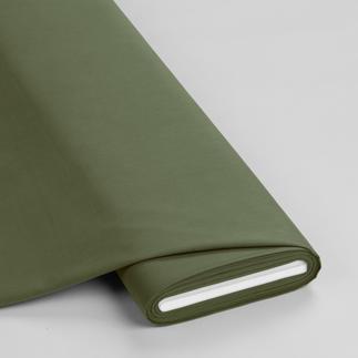 Meterware - Basic-Stoffe, Khakigrün Basic-Stoffe aus Baumwolle