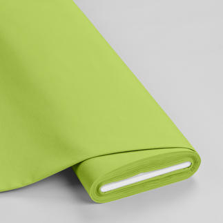 Meterware - Basic-Stoffe, Hellgrün Basic-Stoffe aus Baumwolle