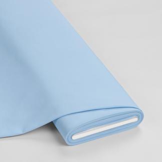 Meterware - Basic-Stoffe, Babyblau Basic-Stoffe aus Baumwolle