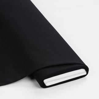Meterware - Basic-Stoffe, Schwarz Basic-Stoffe aus Baumwolle