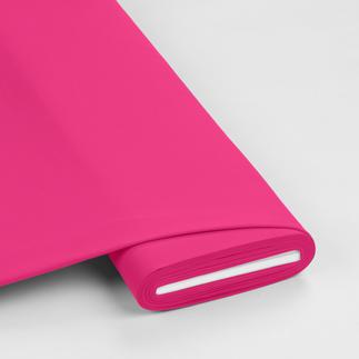 Meterware - Baumwollstoffe-Jersey, Pink Baumwollstoffe-Jersey uni
