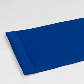 Meterware - Bündchenstoff, Royalblau Bündchenstoff als Schlauchware