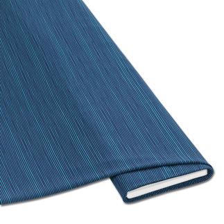 Meterware Baumwoll-Jersey - Streifen, Blau Baumwoll-Jersey – Der ideale Stoff für bequeme Shirts, Kleider und Kindermode.