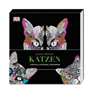 "Ausmalbuch ""Black Premium – Katzen"""