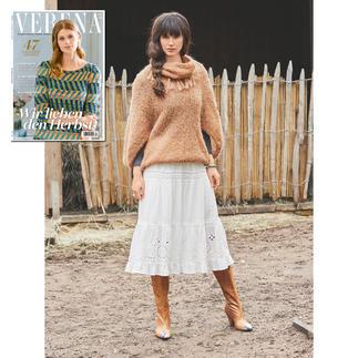 Pullover und Loop aus Verena 4/19
