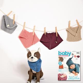 Lätzchen und Halstuch aus Baby Maschenmode 42/19