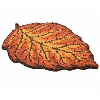 Teppich - Herbstblatt