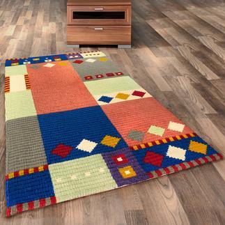 Longstichteppich - Gunta Stickteppiche - die robusten Prachtstücke