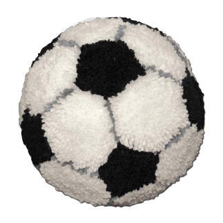 Knüpfkissen - Fußball