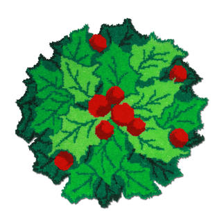 Weihnachtskranz Knüpfideen zur Weihnachtszeit.