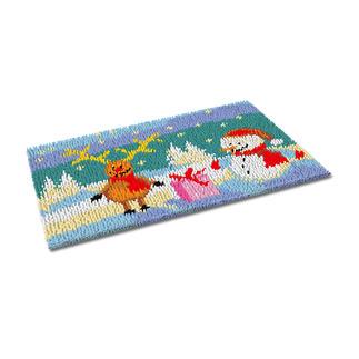 Fußmatte - Rudolf Weihnachtliche Fußmatte.