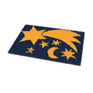 Fußmatte - Sternenhimmel Pflegeleichte Fußmatten.