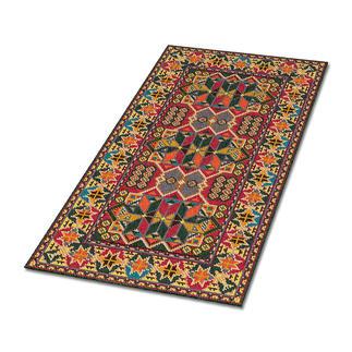 Kreuzstickteppich - Bazar Stickteppiche - die robusten Prachtstücke