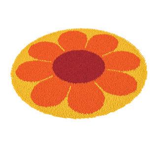 Rundteppiche - Flowerpower 2