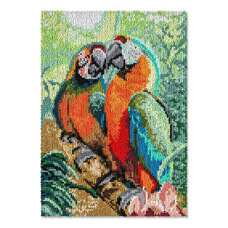 Wandbehang - Aras Dschungelfieber – Tropenfeeling für Zuhause.