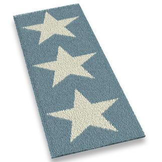 Läufer - White Stars Stars und Sternchen, ein Erfolgsdesign