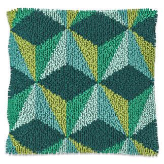 Kissen - Konga, Grün/Gelb, B-Ware Modisch und jung