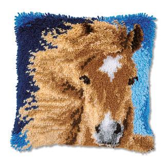Knüpfkissen - Pferd