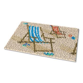 Fußmatte - Liegestuhl