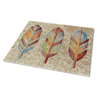 Teppich - Holzfedern