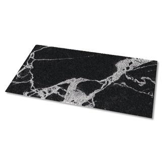 Teppich - Schwarzer Marmor