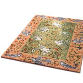 Teppich - Taubenreigen, 80 x 150 cm