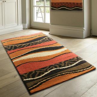 Longstickteppich - Batida, Braun Stickteppiche - die robusten Prachtstücke