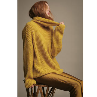 Anleitung 032 Utterly Okay, Pullover aus Water von WOOLADDICTS by Lang Yarns