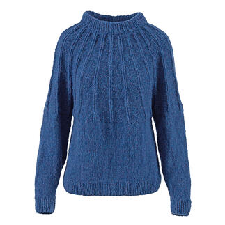 Anleitung 006 Soaring Seagirl, Pullover aus Air von WOOLADDICTS by Lang Yarns