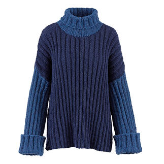 Anleitung 010 Teasing Tides, Pullover aus Air von WOOLADDICTS by Lang Yarns