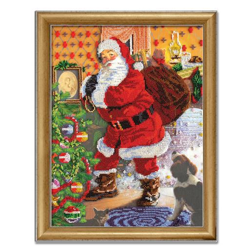 Bead-Art-Bild - Weihnachten