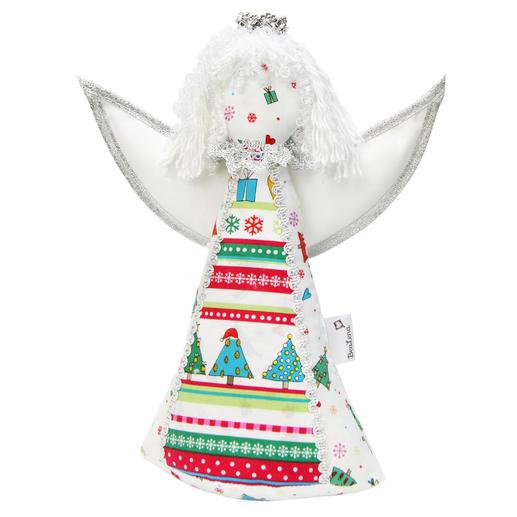 weihnachtliche stoff dekorationen engel fiona 1 st ck. Black Bedroom Furniture Sets. Home Design Ideas