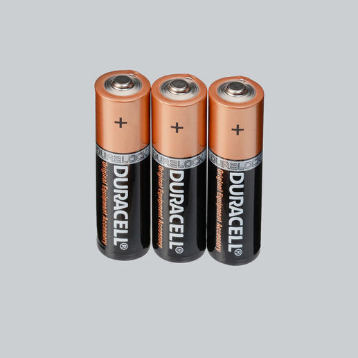 "Duracell ""Advanced Long Life"" Alkaline Batterien, 3er-Set"