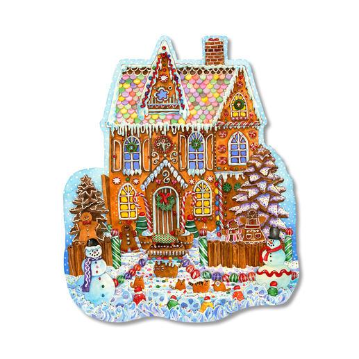 Puzzel - Lebkuchenhaus