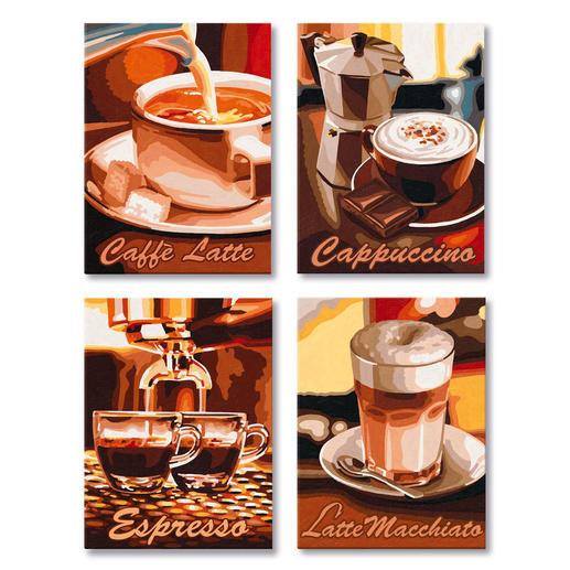 Malen nach Zahlen Quattro - Kaffee-Pause