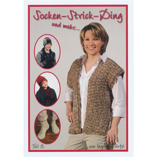 Buch - Socken-Strick-Ding Teil 3